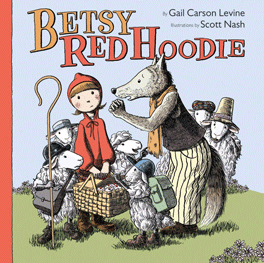 Betsy Red Hoodie Cover