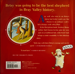 Betsy Who Cried Wolf Back Cover